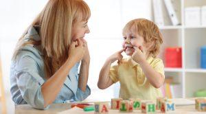 Sprachauffaelligkeiten im Kindesalter